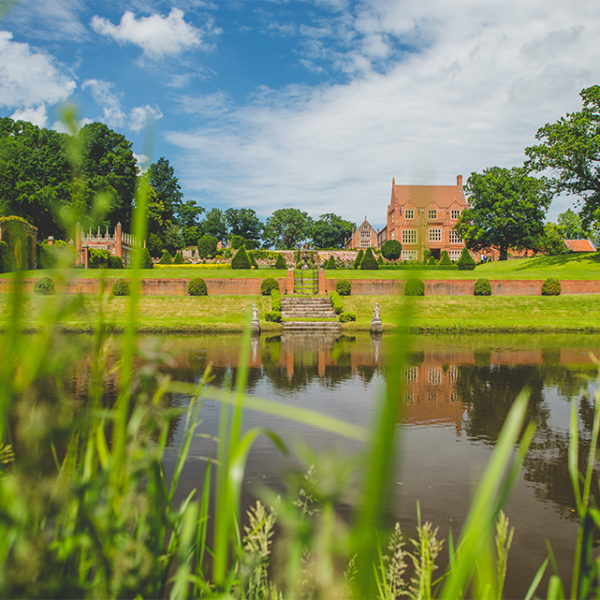 Oxnead Hall is perfect if you are looking for a waterside wedding venue in Norfolk