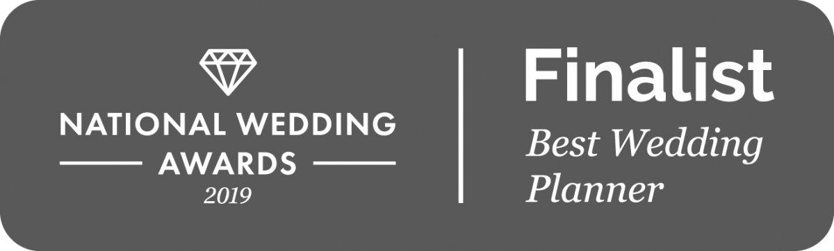 National Wedding Awards 2019 - Finalist Best Wedding Planner