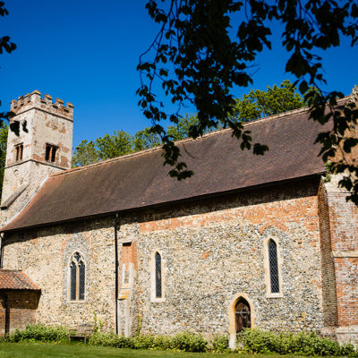 The onsite church at Oxnead Hall exclusive use wedding venue